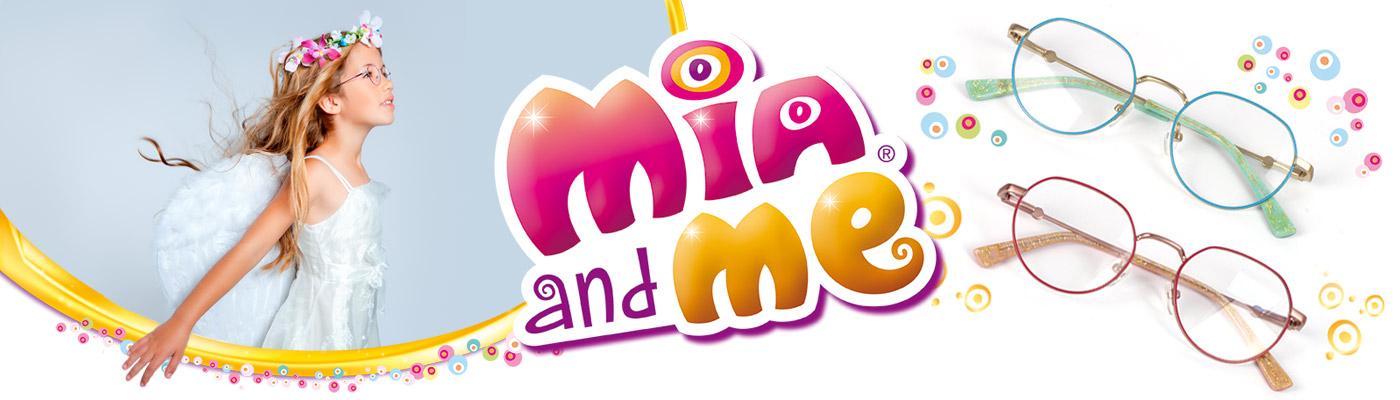 Mia and me Mädchenbrillen  mit liebevollen Details
