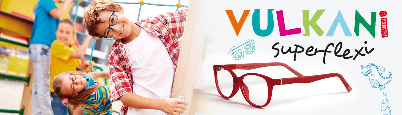 Vulkani Superflexi leichte und extrem flexible Kinderbrillen